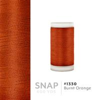 Burnt Orange # 1330 Iris Polyester Embroidery Thread - 600 Yds THUMBNAIL