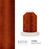 Dark Rust # 1331 Iris Polyester Embroidery Thread - 1100 Yds THUMBNAIL