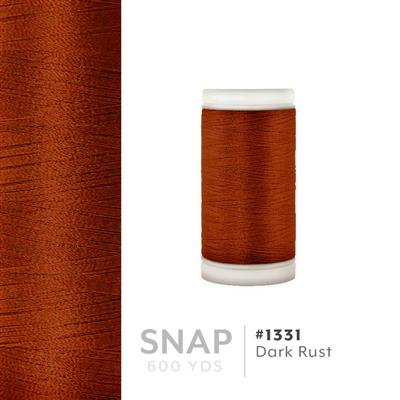 Dark Rust # 1331 Iris Polyester Embroidery Thread - 600 Yd Snap Spool MAIN