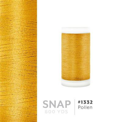 Pollen # 1332 Iris Polyester Embroidery Thread - 600 Yd Snap Spool MAIN
