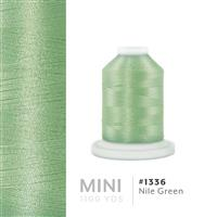 Nile Green # 1336 Iris Polyester Embroidery Thread - 1100 Yds THUMBNAIL
