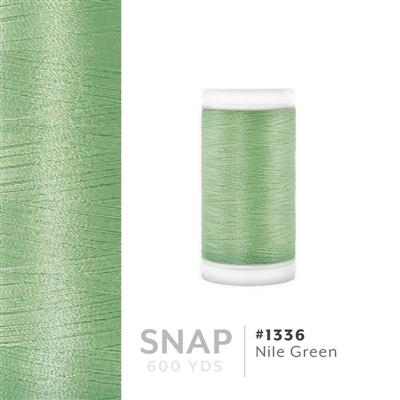 Nile Green # 1336 Iris Polyester Embroidery Thread - 600 Yd Snap Spool MAIN