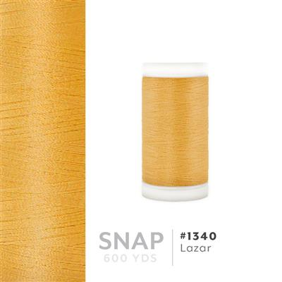 Lazar # 1340 Iris Polyester Embroidery Thread - 600 Yd Snap Spool MAIN