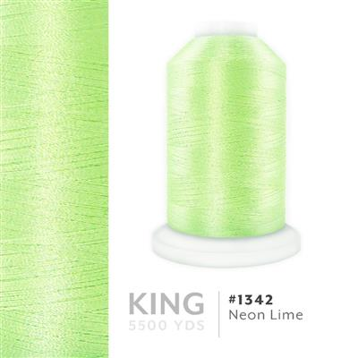 Neon Lime # 1342 Iris Trilobal Polyester Thread - 5500 Yds MAIN