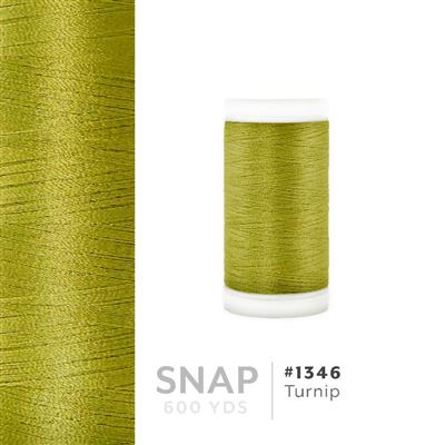 Turnip # 1346 Iris Polyester Embroidery Thread - 600 Yd Snap Spool MAIN
