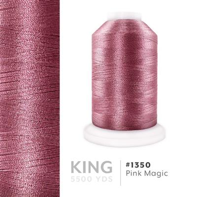 Pink Magic # 1350 Iris Trilobal Polyester Thread - 5500 Yds MAIN