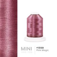 Pink Magic # 1350 Iris Polyester Embroidery Thread - 1100 Yds THUMBNAIL