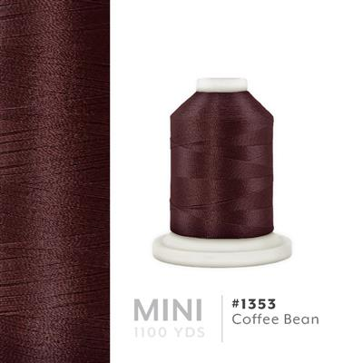 Coffee Bean # 1352 Iris Polyester Embroidery Thread - 1100 Yds MAIN