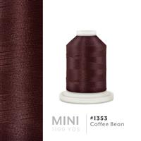 Coffee Bean # 1352 Iris Polyester Embroidery Thread - 1100 Yds THUMBNAIL