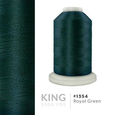 Royal Green # 1354 Iris Trilobal Polyester Thread - 5500 Yds MAIN