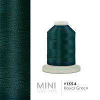 Royal Green # 1354 Iris Polyester Embroidery Thread - 1100 Yds THUMBNAIL