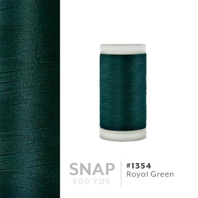 Royal Green # 1354 Iris Polyester Embroidery Thread - 600 Yd Snap Spool MAIN