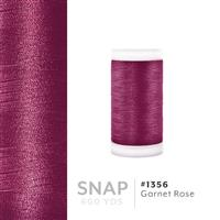 Garnet Rose # 1356 Iris Polyester Embroidery Thread - 600 Yd Snap Spool THUMBNAIL
