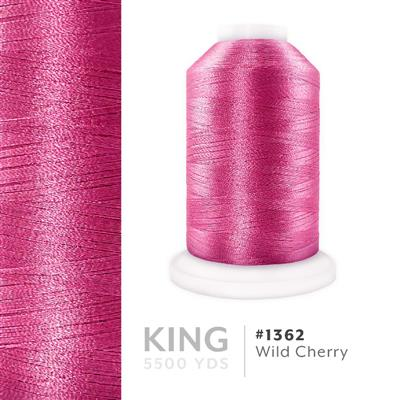Wild Cherry # 1362 Iris Trilobal Polyester Thread - 5500 Yds MAIN