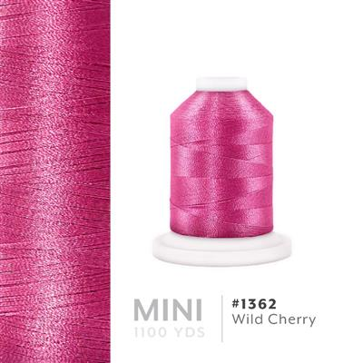 Wild Cherry # 1362 Iris Polyester Embroidery Thread - 1100 Yds MAIN