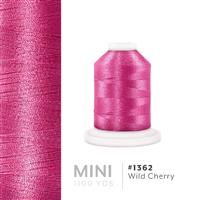 Wild Cherry # 1362 Iris Polyester Embroidery Thread - 1100 Yds THUMBNAIL