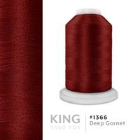 Deep Garnet # 1366 Iris Trilobal Polyester Machine Embroidery & Quilting Thread - 5500 Yds THUMBNAIL