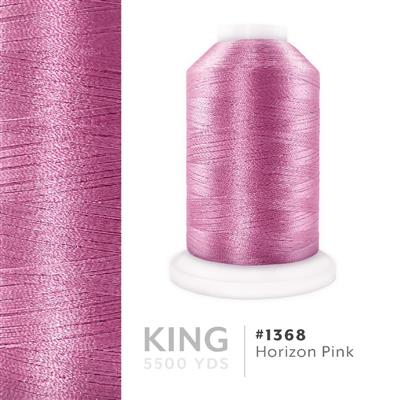 Horizon Pink # 1368 Iris Trilobal Polyester Thread - 5500 Yds MAIN