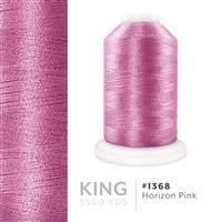 Horizon Pink # 1368 Iris Trilobal Polyester Machine Embroidery & Quilting Thread - 5500 Yds THUMBNAIL