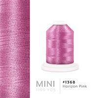 Horizon Pink # 1368 Iris Polyester Embroidery Thread - 1100 Yds THUMBNAIL