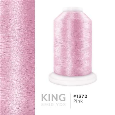 Pink # 1372 Iris Trilobal Polyester Thread - 5500 Yds MAIN