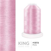 Pink # 1372 Iris Trilobal Polyester Thread - 5500 Yds THUMBNAIL