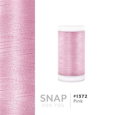 Pink # 1372 Iris Polyester Embroidery Thread - 600 Yd Snap Spool MAIN