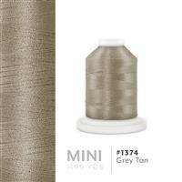 Grey Tan # 1374 Iris Polyester Embroidery Thread - 1100 Yds THUMBNAIL