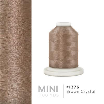 Brown Crystal # 1376 Iris Polyester Embroidery Thread - 1100 Yds MAIN