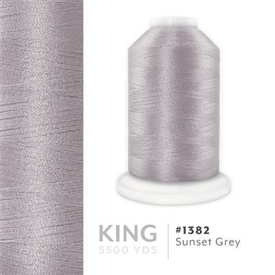 Sunset Grey # 1382 Iris Trilobal Polyester Thread - 5500 Yds MAIN