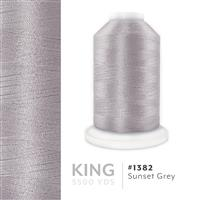 Sunset Grey # 1382 Iris Trilobal Polyester Machine Embroidery & Quilting Thread - 5500 Yds THUMBNAIL