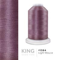 Lt. Mauve # 1384 Iris Trilobal Polyester Machine Embroidery & Quilting Thread - 5500 Yds THUMBNAIL