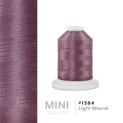 Lt. Mauve # 1384 Iris Polyester Embroidery Thread - 1100 Yds MAIN