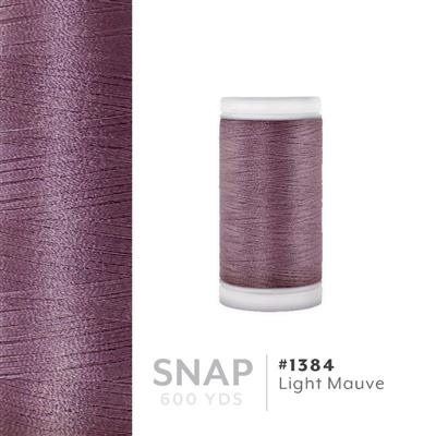 Lt. Mauve # 1384 Iris Polyester Embroidery Thread - 600 Yd Snap Spool MAIN