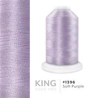 Soft Purple # 1396 Iris Trilobal Polyester Machine Embroidery & Quilting Thread - 5500 Yds THUMBNAIL