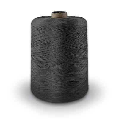 Polyester Merrow Floss - Charcoal MAIN