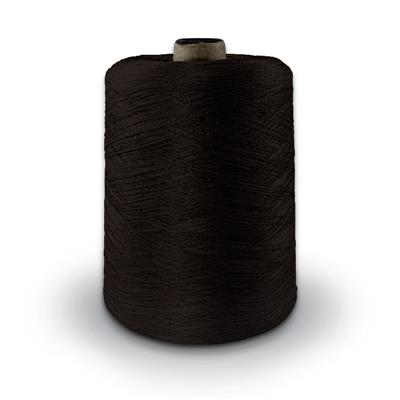 Polyester Merrow Floss - Dark Brown MAIN
