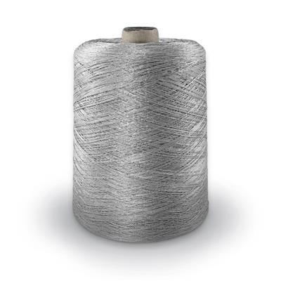 Polyester Merrow Floss - Light Grey MAIN