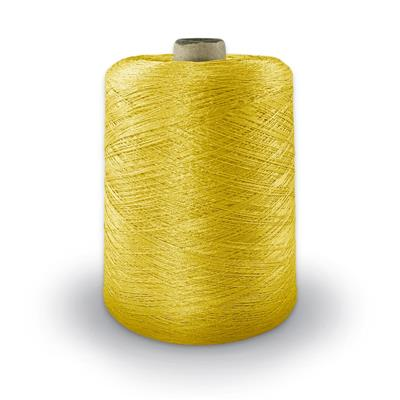 Polyester Merrow Floss - Yellow MAIN