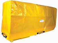 Tarp for In-Line Poly-SpillPallet