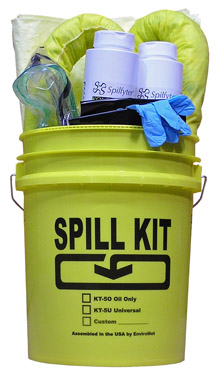 5 gallon Caustic Spill Kit