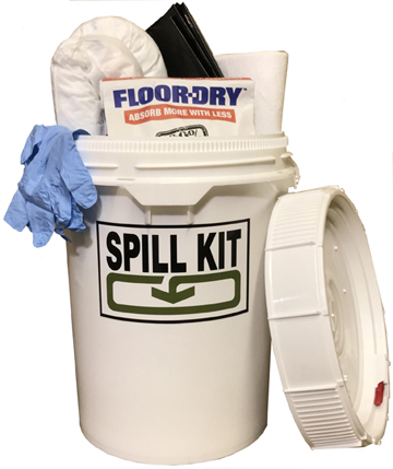 5 Gallon Screw Top Spill Kit