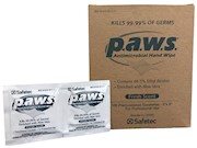 p.a.w.s. Antimicrobial Wipes 100 individual packs per box THUMBNAIL