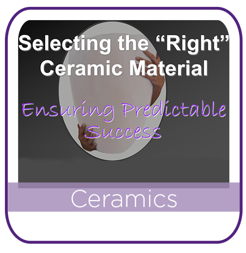 Choosing the right Ceramic MAIN