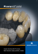 Brochure - Ceramill Zolid Greater diversity with HT zirconia