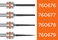 Amann Girrbach Diamond Burs (Orange) RFID MAIN