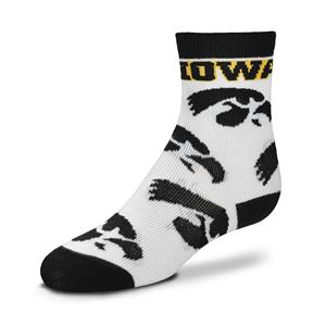 Iowa Hawkeyes - All Over Pattern THUMBNAIL