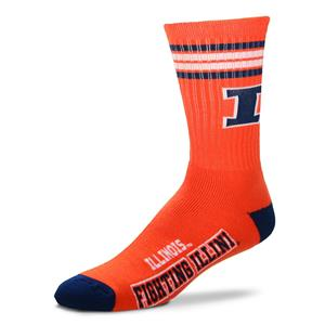 Illinois Fighting Illini - 4 Stripe Deuce THUMBNAIL