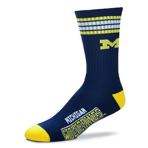 Michigan Wolverines - 4 Stripe Deuce THUMBNAIL