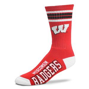 Wisconsin Badgers - 4 Stripe Deuce THUMBNAIL